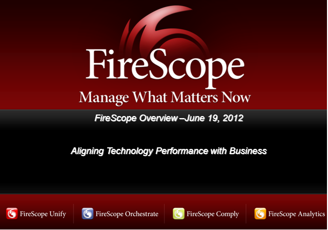 FireScope and Insight Integrated Systems