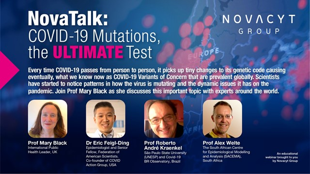 NovaTalk: COVID-19 Mutations, the Ultimate Test