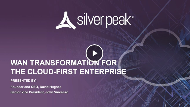 WAN Transformation for the Cloud-First Enterprise