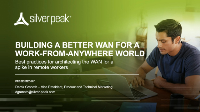 Building a Better WAN for a Work-From-Anywhere World