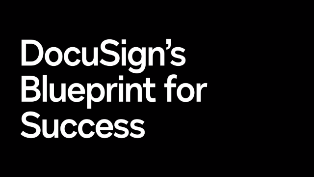 Busting Adoption Roadblocks: DocuSign's Blueprint for Success
