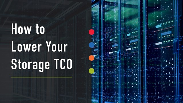 You Can't Lower Storage TCO without a Platform