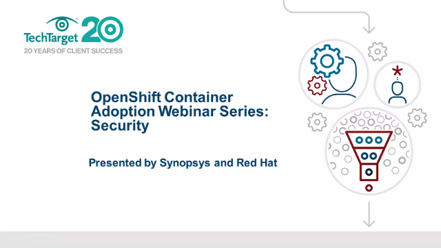 OpenShift container adoption: security