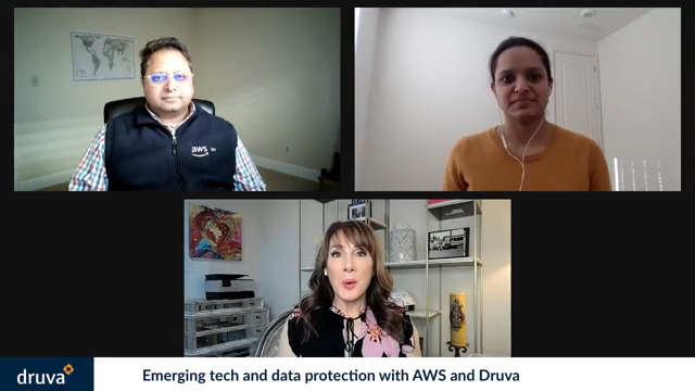 Emerging tech and data protection with AWS and Druva