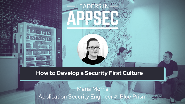 How to Develop a Security First Culture