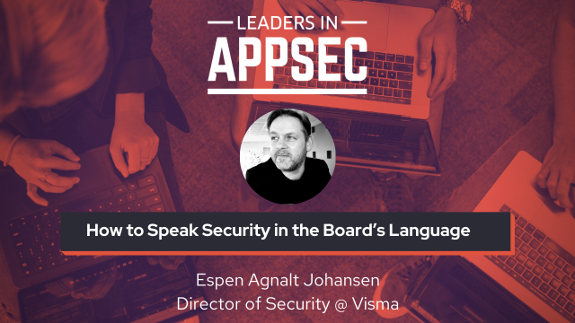 How to Speak Security in the Board's Language