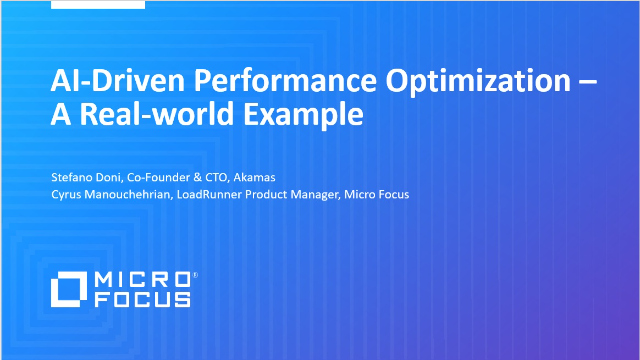 AI-Driven Performance Optimization – A Real-World Example