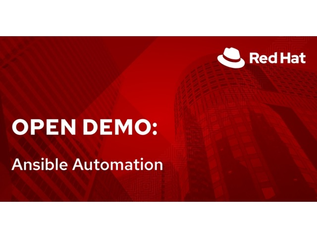 Open Demo: Ansible Automation (4/12)