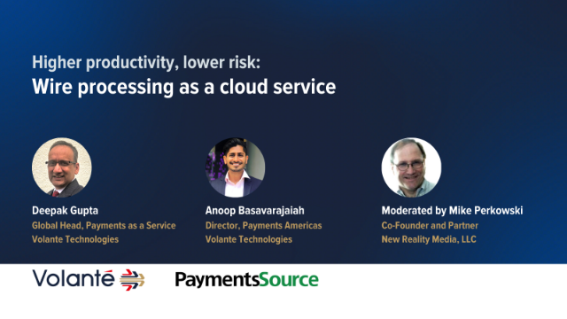 Higher Productivity, Lower Risk: Wire Processing as a Cloud Service