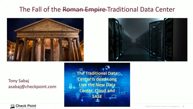 The Roman Empire and The Traditional Data Center
