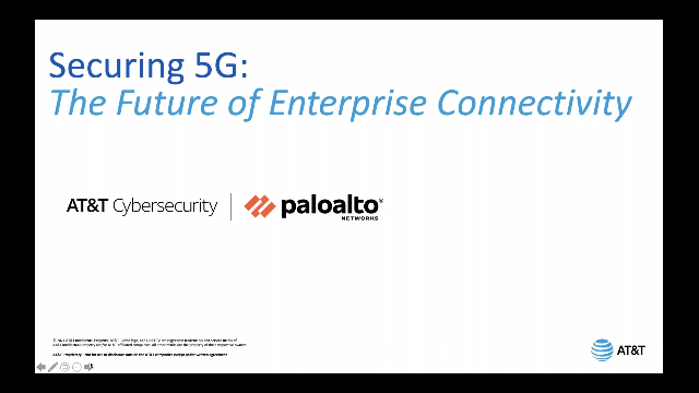 Securing 5G: The Future of Enterprise Connectivity