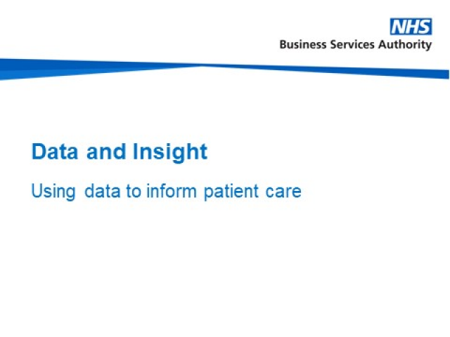 Using data to influence effective decision making in the NHS
