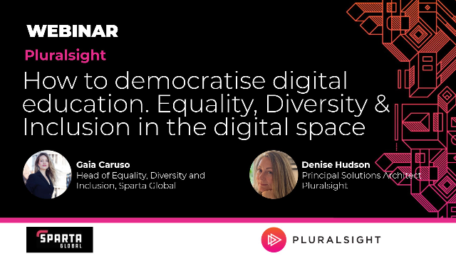 How to democratize digital education. Equality, Diversity & Inclusion