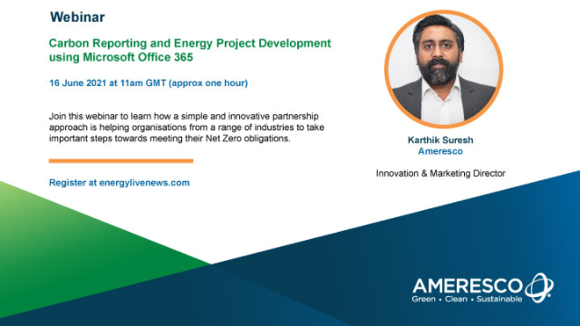 Carbon Reporting and Energy Project Development using Microsoft Office 365