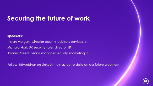 Securing the future of work