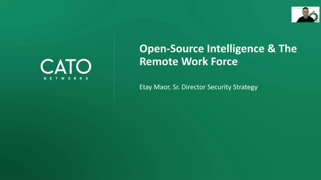 How (and Why) to Apply OSINT to Protect your Enterprise