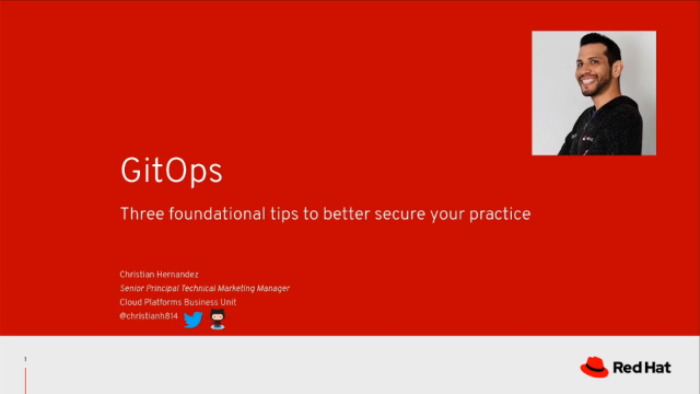GitOps: 3 foundational tips to better secure your practice