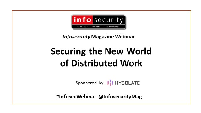 How to secure the new world of distributed work