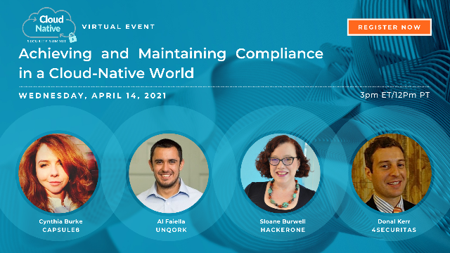 Cloud Native Security Summit 2021 - Compliance in a Cloud-Native World