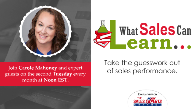 What Sales Can Learn - Episode 12
