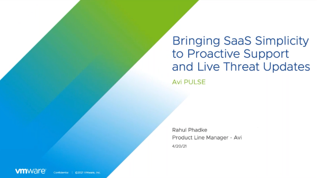 Bringing SaaS Simplicity to Proactive Support and Live Threat Update