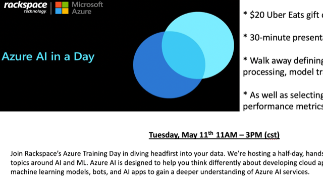 Azure AI in a Day