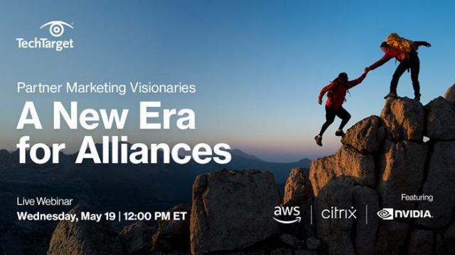 Partner Marketing Visionaries: A New Era for Alliances
