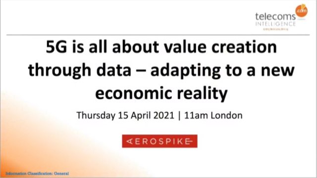 5G is All About Value Creation Through Data - Adapting to a New Economic Reality