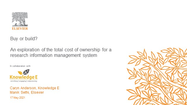 Introducing the RIMS Total Cost of Ownership Whitepaper