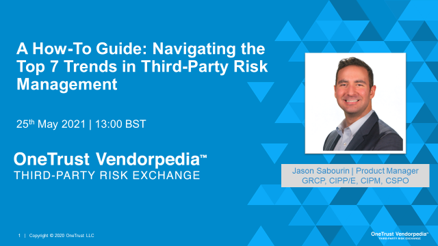 A How-To Guide for CISOs: Navigating the Top Trends in Third-Party Risk