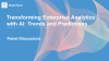 Transforming Enterprise Analytics with AI: Trends and Predictions