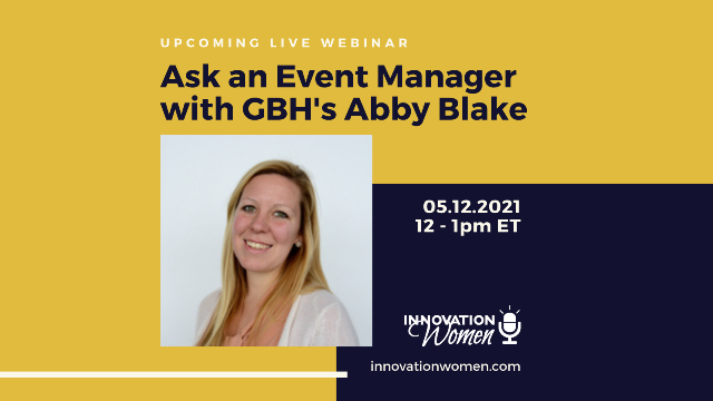 Ask an Event Manager with WGBH's Abby Blake