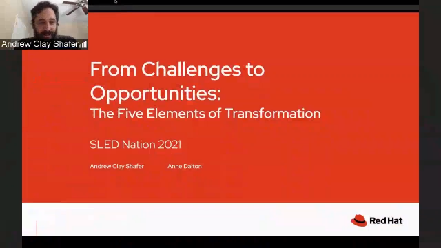 SLED Nation 2021 | From Challenges to Opportunities