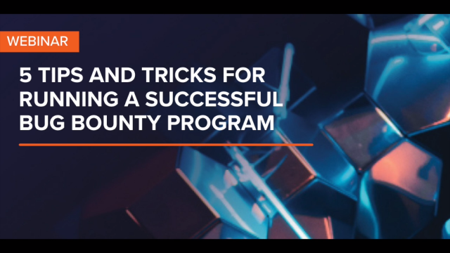 5 Tips and Tricks for Running a Successful Bug Bounty Program