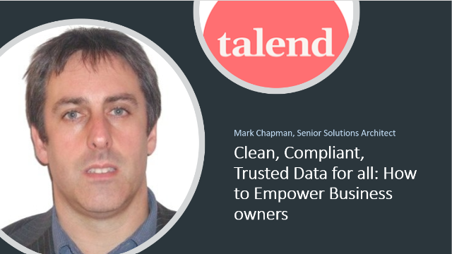 Clean, Compliant, Trusted Data for All: How to Empower Business owners
