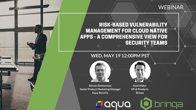 Risk-based Vulnerability Management for Cloud Native Apps: A Comprehensive View