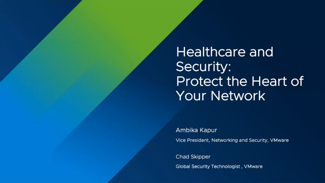 Healthcare and Security: Protect the Heart of Your Network