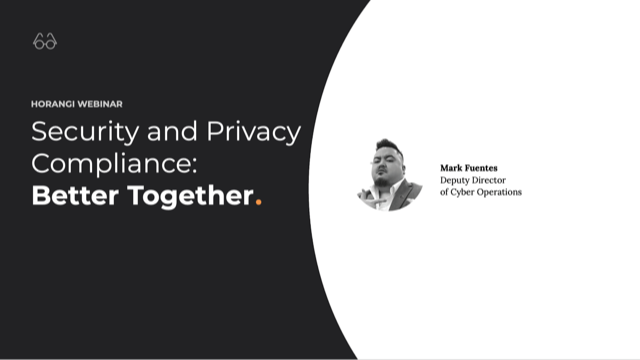 Security and Privacy Compliance — Better Together