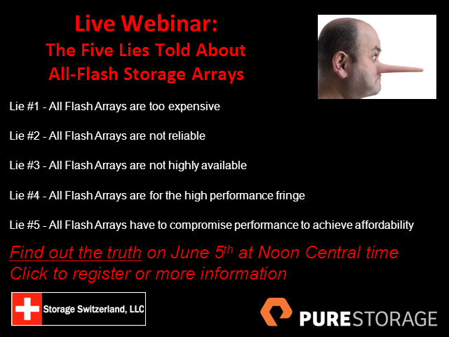 The Five Lies Told About All Flash Storage Systems