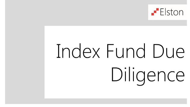 CPD: Index Fund Due Diligence