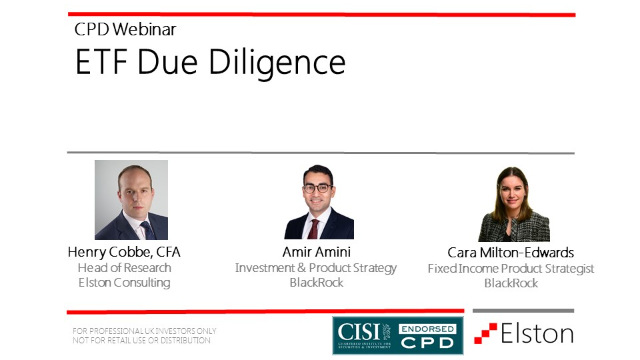 CPD: ETF Due Diligence
