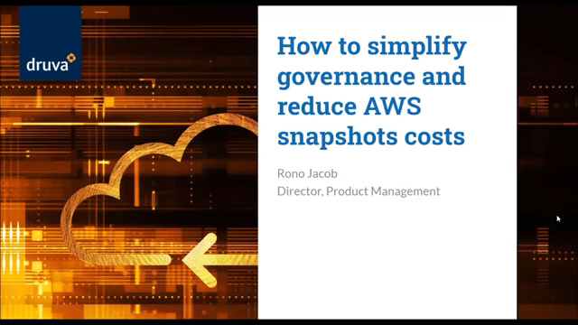 How to simplify governance & reduce AWS snapshot costs