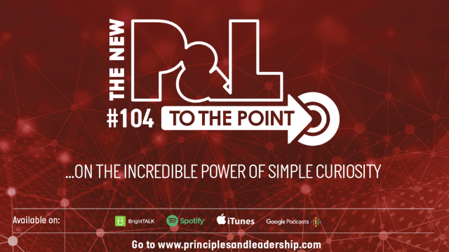 The New P&L TO THE POINT on the Incredible Power of Simple Curiosity