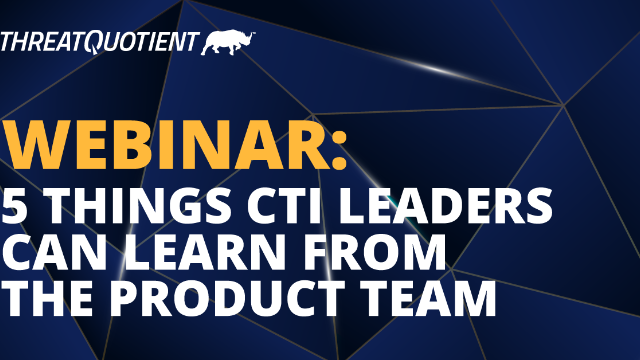 5 Things CTI Leaders Can Learn from the Product Team
