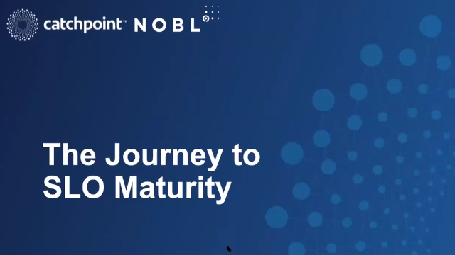 The Journey to SLO Maturity: SLO-based Decisions to Meet Business Objectives