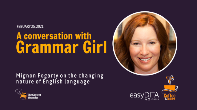 Replay: A Chat with Grammar Girl —The Changing Nature of Language