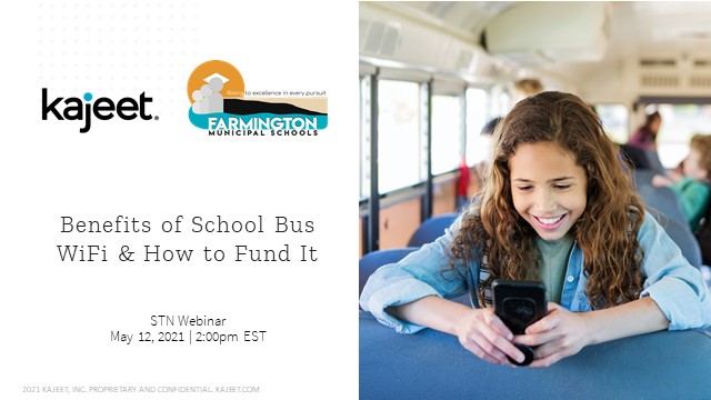 Benefits of School Bus WiFi & How to Fund It
