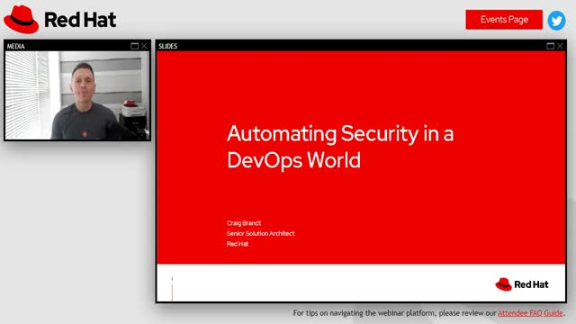 Automating security in DevOps environments