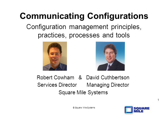 Communicating Configurations - for Change and Configuration Management