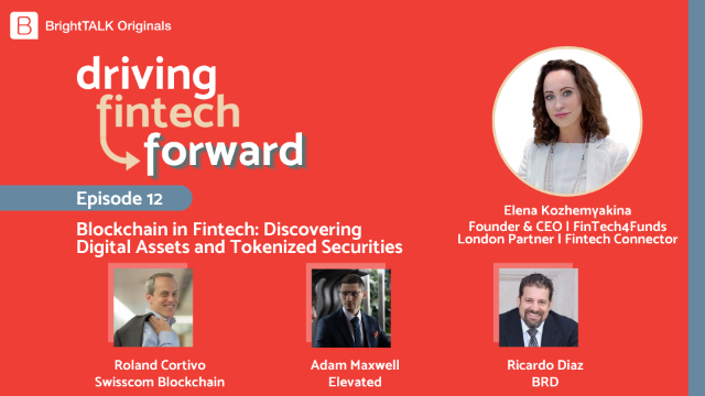 Blockchain in Fintech: Discovering Digital Assets and Tokenised Securities
